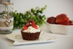 Erdbeer-Stracciatella Törtchen