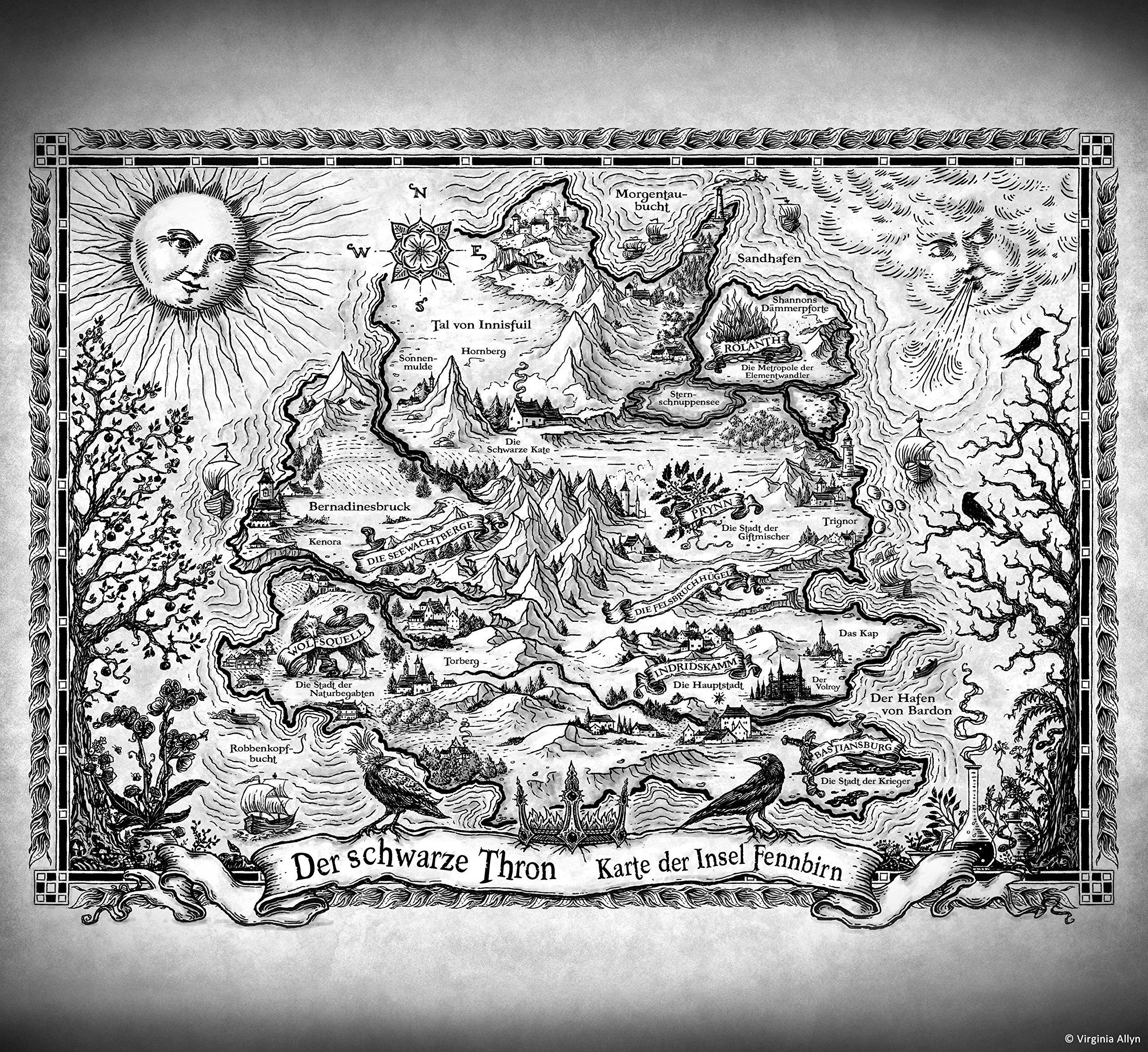 Fennbirn-Karte