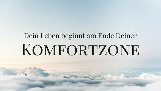 Spruch Komfortzone