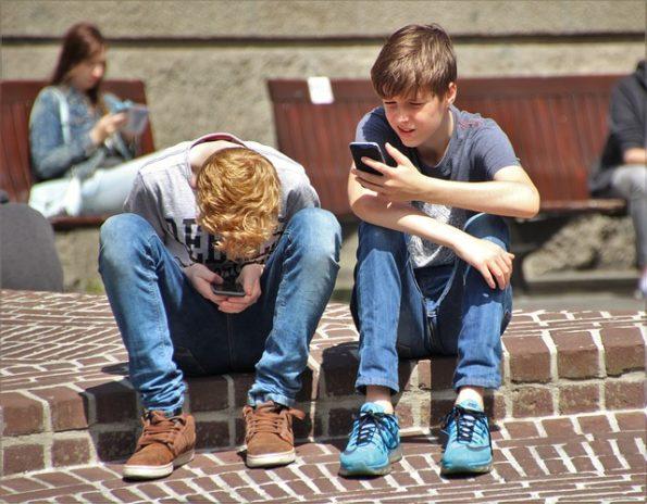 Jugend Smartphone